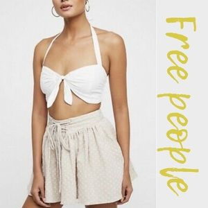 Free People Flowy Meet Your Match Skort Shorts